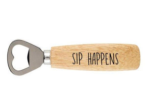 Sip Happens Bottle Opener Entertaining Tabula Rasa Essentials