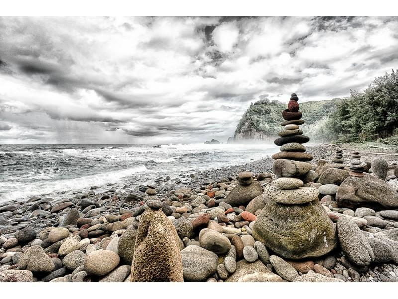 Stack Rocks Roy Wall Art Wall Art Tabula Rasa Essentials