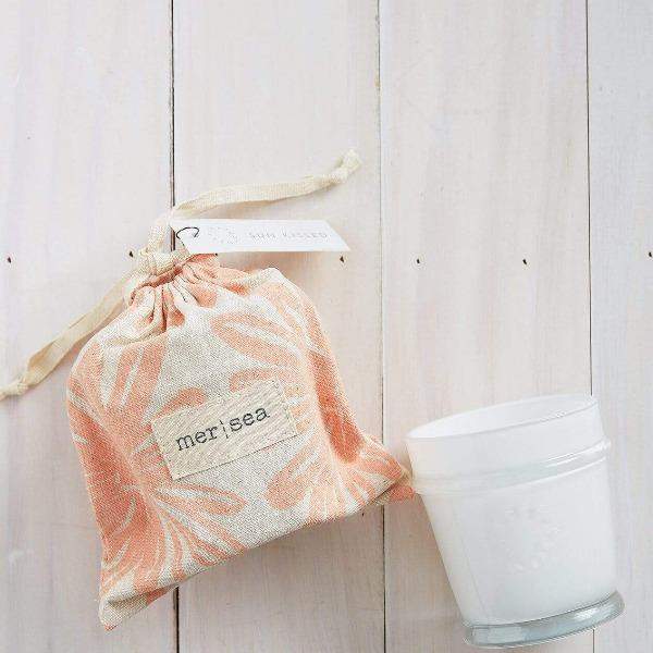 Sun Kissed Printed Sandbag Candle Candles Mer Sea & Co.