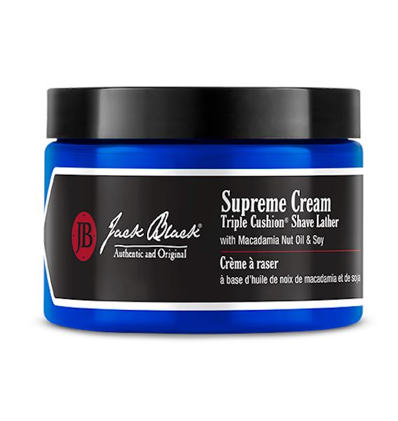 Supreme Cream - 9.5 oz. Jar Shave Jack Black