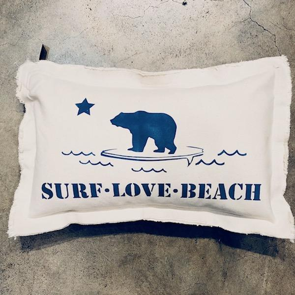 Surf Love Baby Rectangle Pillow Pillow Tabula Rasa Essentials Summer Nights