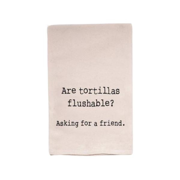 Tortilla Flush Kitchen Towel Flour Sack Towel TABULA RASA ESSENTIALS