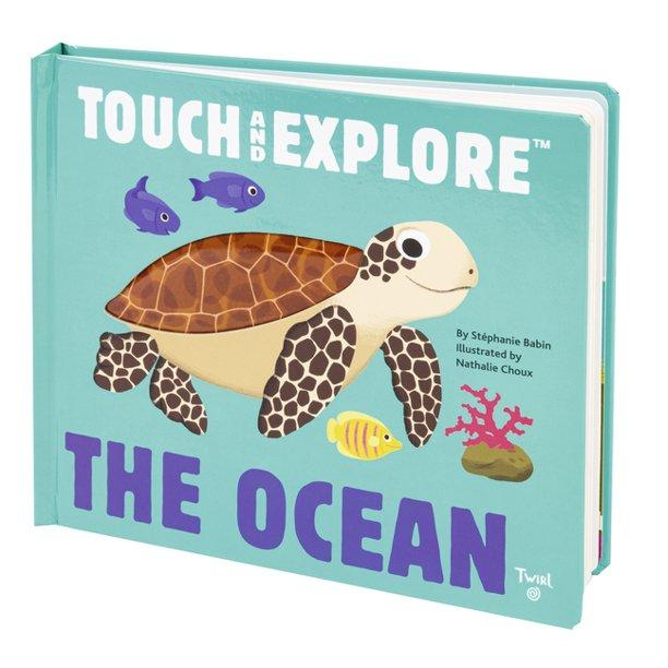 Touch and Explore The Ocean Book - TEMPORARILY SOLD OUT Kids Books Tabula Rasa Essentials