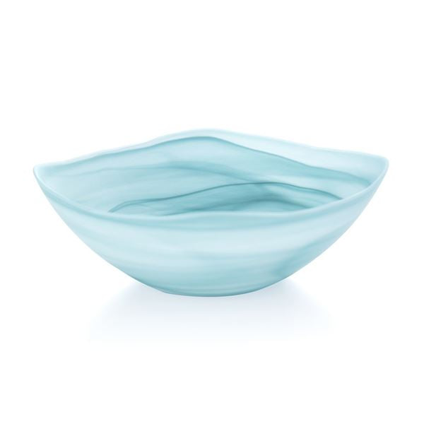 Turquoise Alabaster Square Lg Bowl- TEMPORARILY SOLD OUT Entertaining Tabula Rasa Essentials