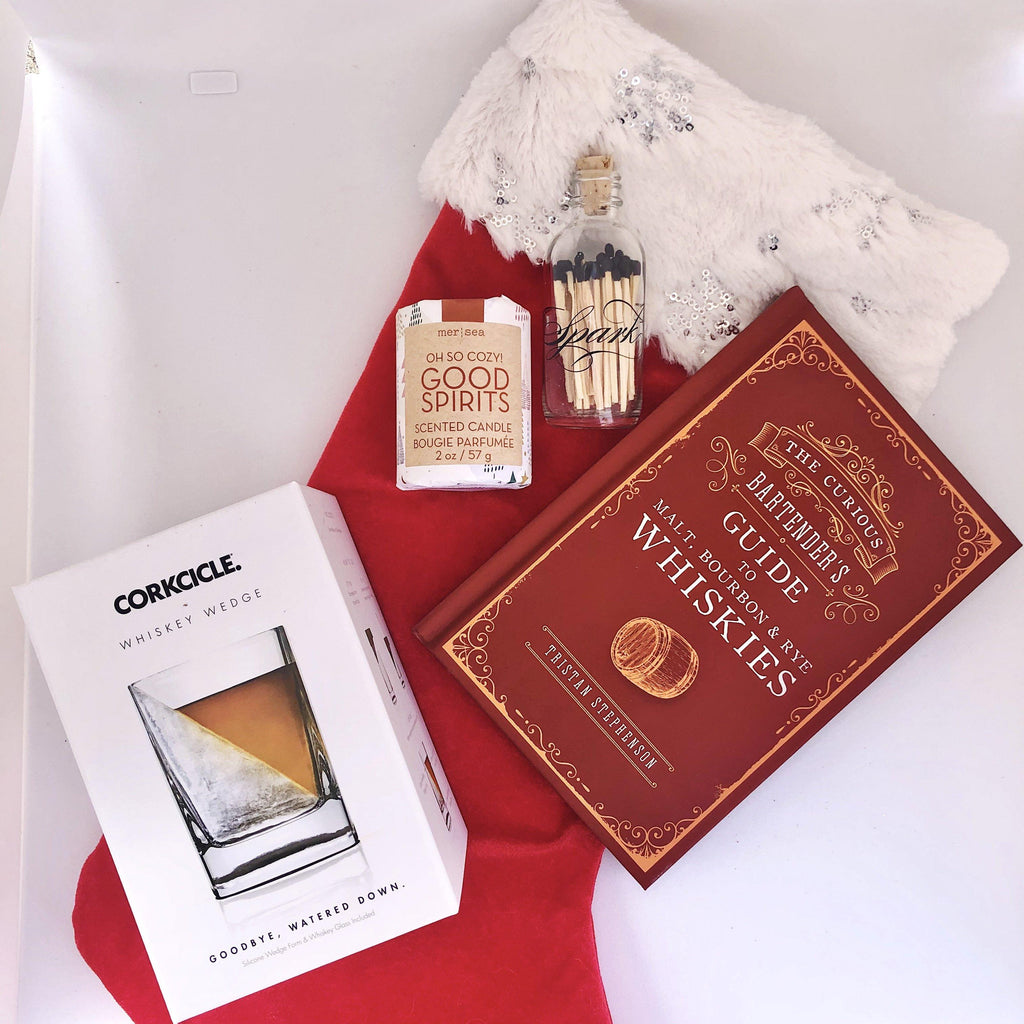 Whiskey Spirit Stocking Gift Set Holiday Gift Set Tabula Rasa Essentials