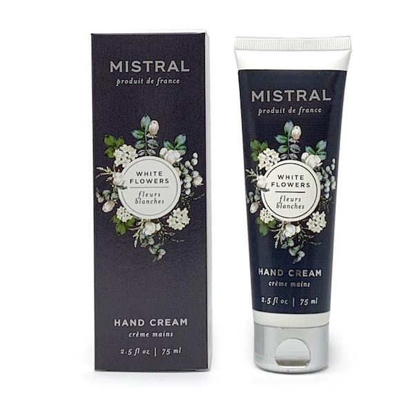 White Flowers Classic Hand Cream Body Lotion Mistral