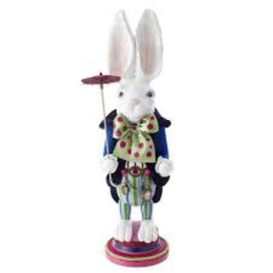 "White Rabbit 18"" Nutcracker Holiday Ornament Tabula Rasa Essentials"