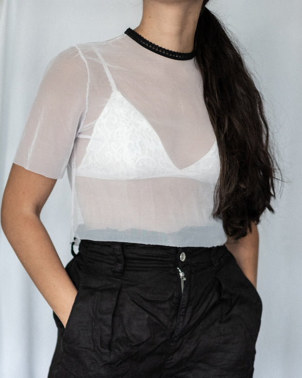 Choker Soft Crop Top