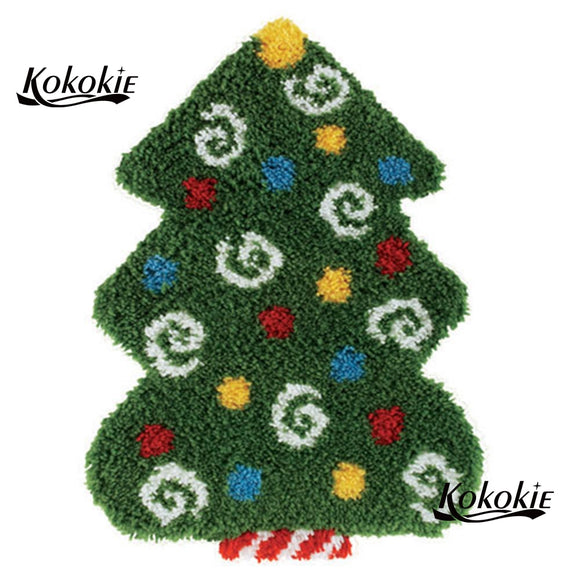 Christmas Tree Latch Hook Kit