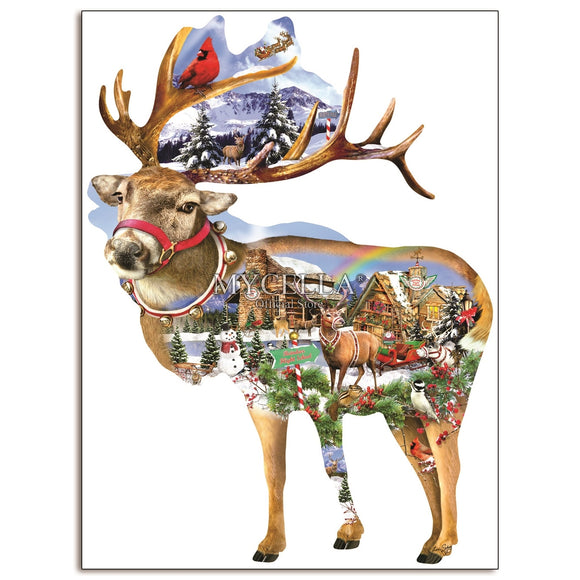 Christmas Reindeer Diamond Painting Kit