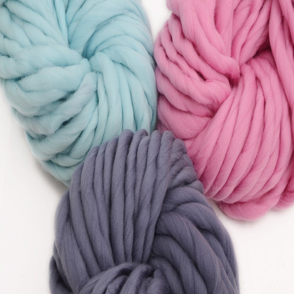 Korea Katie Thick Iceland Wool Yarn 250g/skein Extra Thick for Big Loopy Finished Look