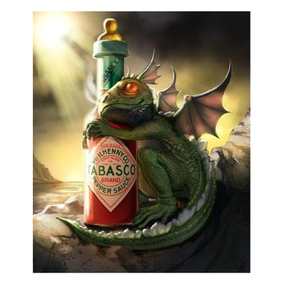 Dragon and His Tabasco Diamond Painting Kit