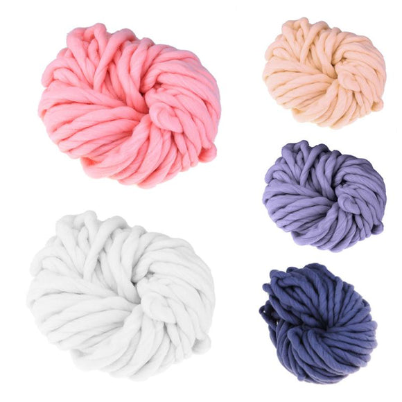 VKTECH Acrylic Blended Chunky Yarn for Knitting and Crochet DIY Projects
