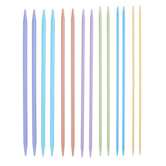 Plastic Double Point Knitting Needles