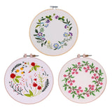 Flower Embroidery Kit