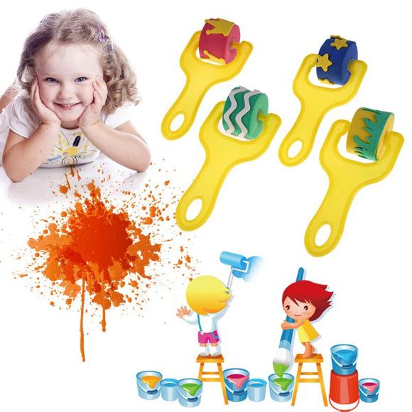 Children's Craft Painting Sponge Rollers
