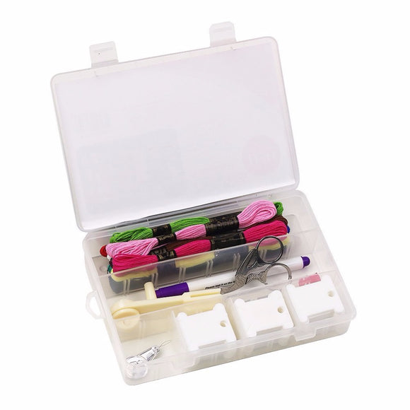 D&D Multi-function Cross Stitch Kit Organizer for Floss Bobbins and Other Accessories