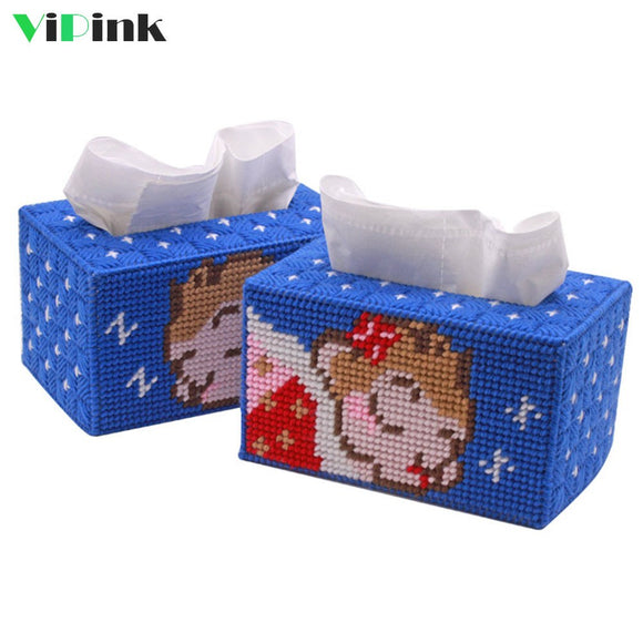 Cute Monkey Tissue Box Kit