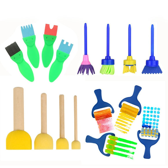 Sponge Painting Brush Set