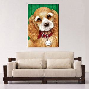 Puppy Dog Diamond Painting Kit
