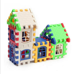 Children's Letter House Building Blocks