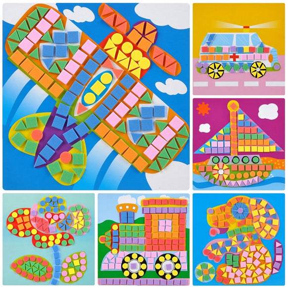 Mosaic Sticker 3D Puzzle Kits