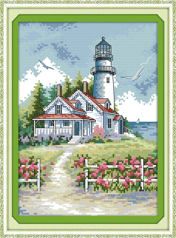 Lighthouse Cross Stitch Kit (1)