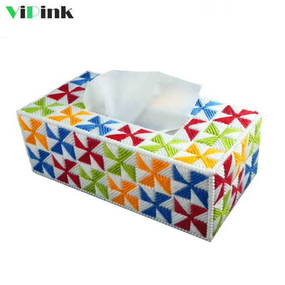 Plastic Canvas Napkin or Tissue Box Holder Kit