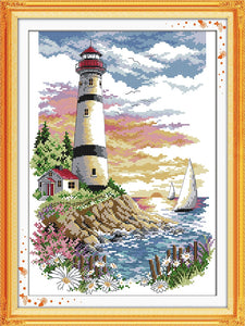 Lighthouse Cross Stitch Kit (2)