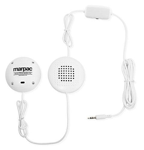Marpac - Stereo pillow speakers for tinnitus sufferers