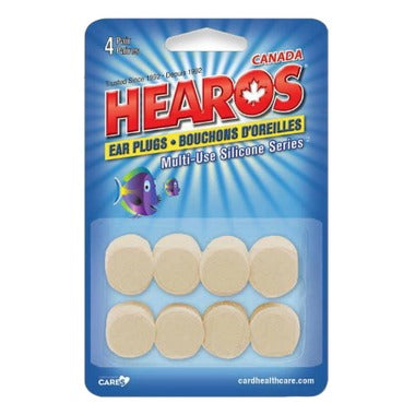 Hearos - Earplugs multi-use silicone series NRR 22dB - ODYO Shop