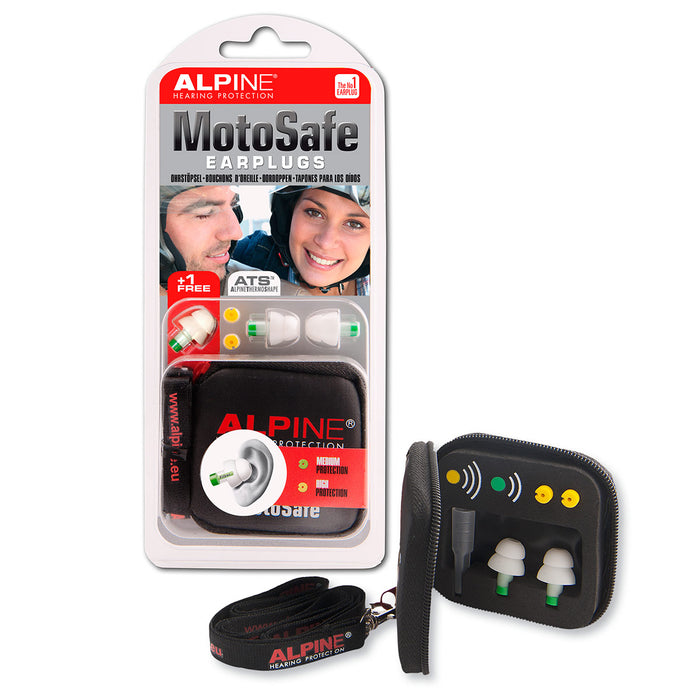 Alpine MotoSafe - Hearing protection for motorcycle and wind noise