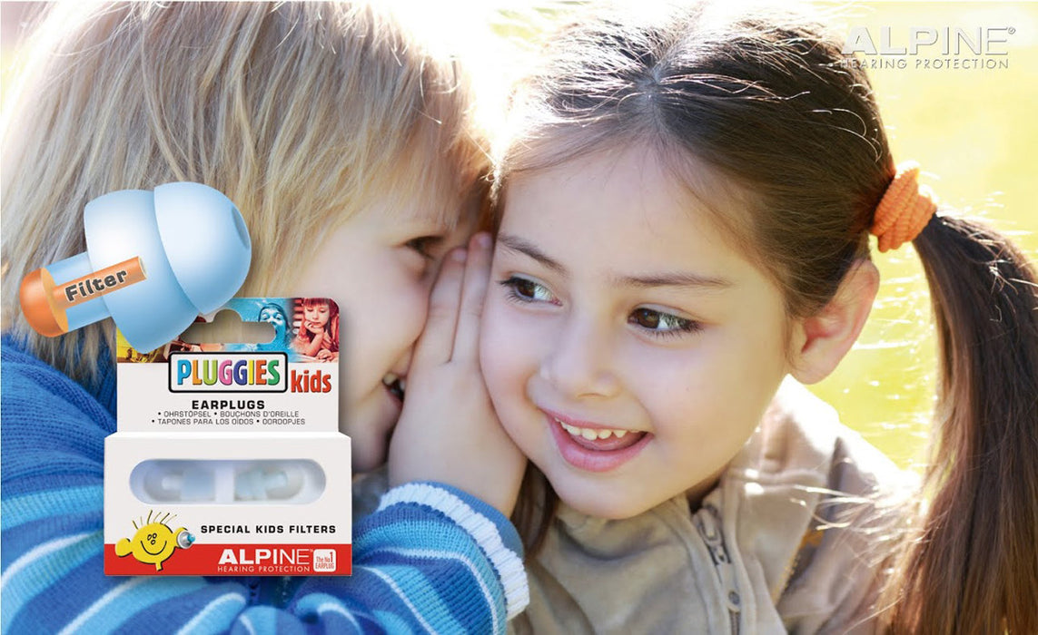 Alpine Pluggies - Hearing protection for kids and children
