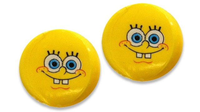 Aqua Ears - Sponge Bob silicone kids ear plugs for water protection
