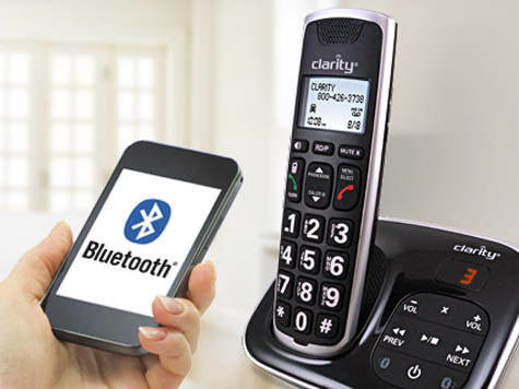 Clarity BT914 - Cordless bluetooth amplified phone +40dB