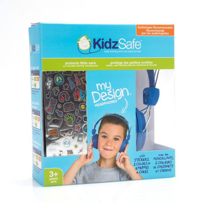 KidzSafe My Design - Volume limiting headphones for children