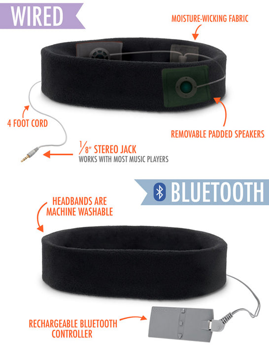 SleepPhones - Bluetooth Headphones for sleep