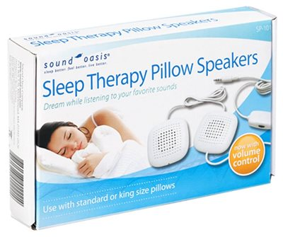 Sound Oasis - Sleep therapy pillow speakers
