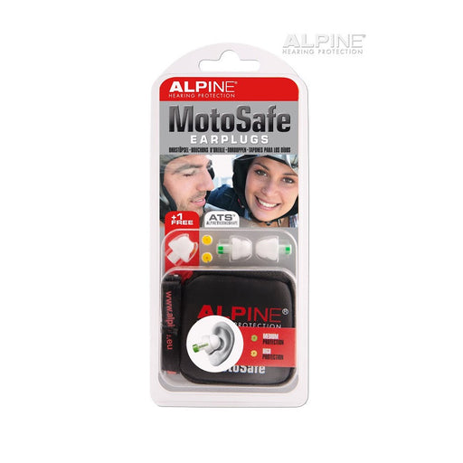 Alpine MotoSafe - Hearing protection for motorcycle and wind noise - ODYO Shop