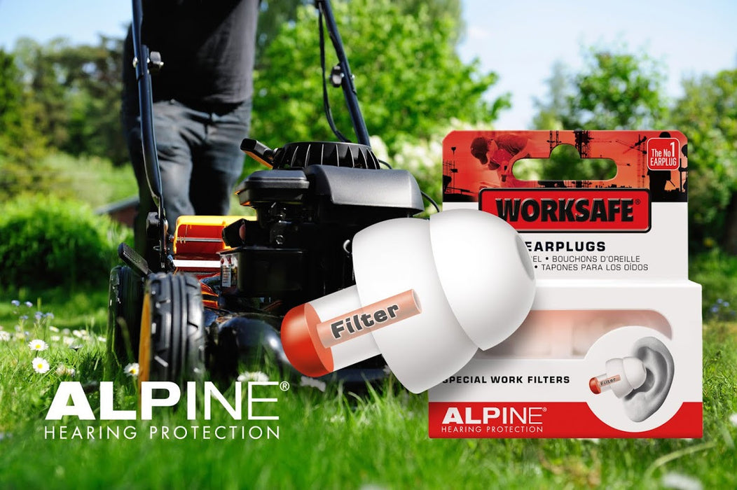 Alpine WorkSafe - Hearing protection for noisy environments
