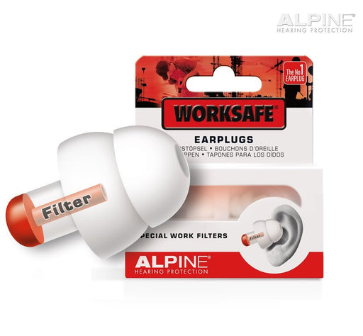 Alpine WorkSafe - Hearing protection for noisy environments - ODYO Shop