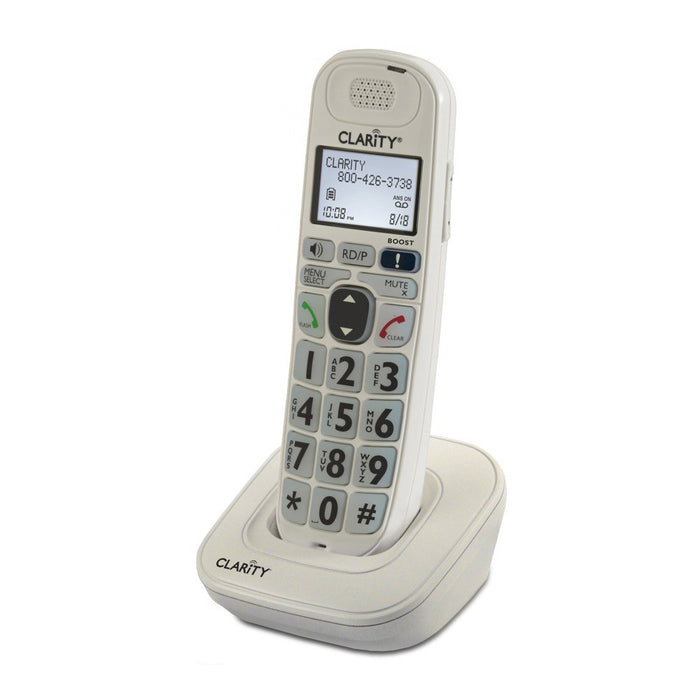 Clarity D704HS - Cordless extension handset +40dB - ODYO Shop