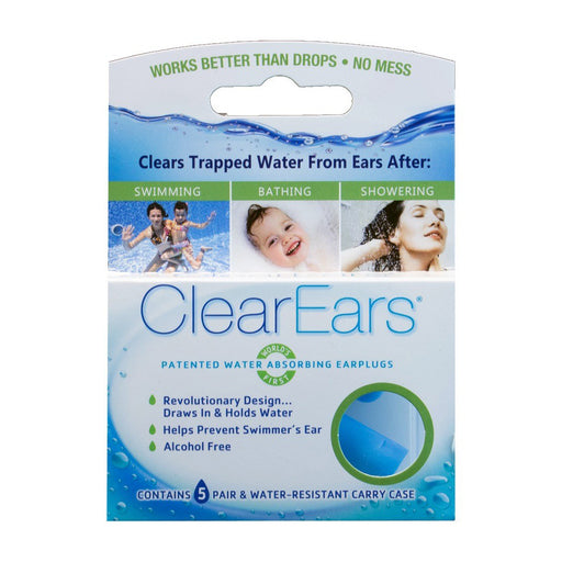 ClearEars - Water absorbing earplugs - ODYO Shop