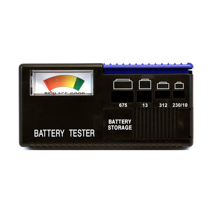 Hearing Aid Battery Tester