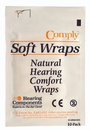Comply Soft Wraps - Hearing aid retention and comfort wraps - ODYO Shop