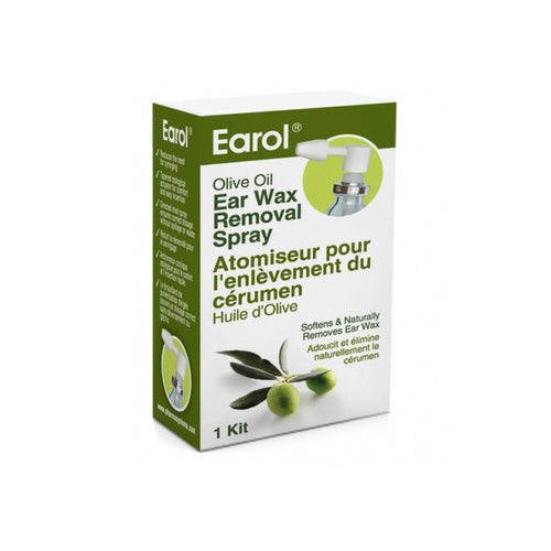 Earol Olive Oil - Ear wax removal spray 10ml - ODYO Shop