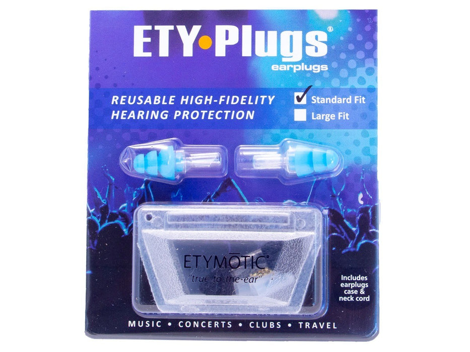 ETY Plugs ER-20 - High fidelity earplugs for musicians and parties