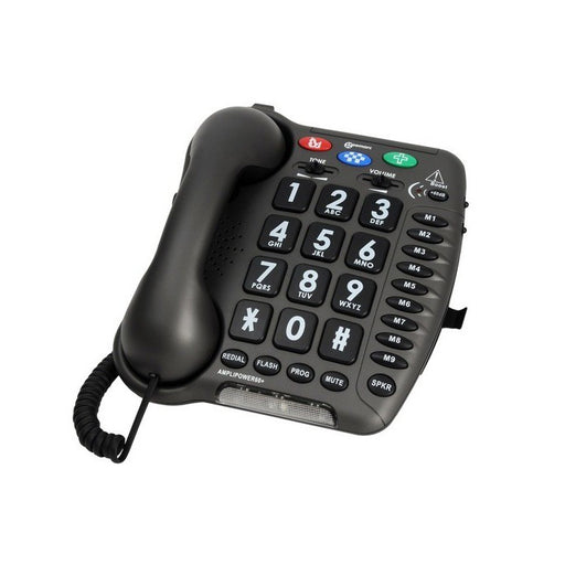 Geemarc AMPLIPOWER60 - Corded amplified telephone +67dB - ODYO Shop