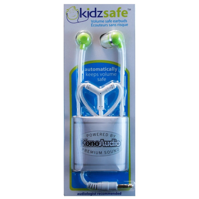 KidzSafe KonoAudio - Volume limiting earbuds for children - ODYO Shop