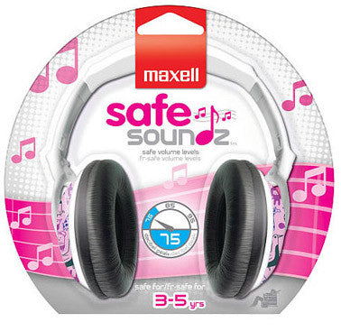 Maxell Safe Soundz - Volume limiting headphones for kids